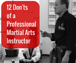 12_Donts_of_a_ProfessionalMartial